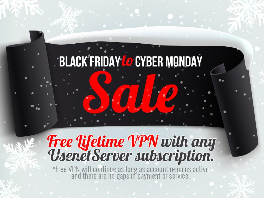 Free Lifetime VPN! Black Friday
