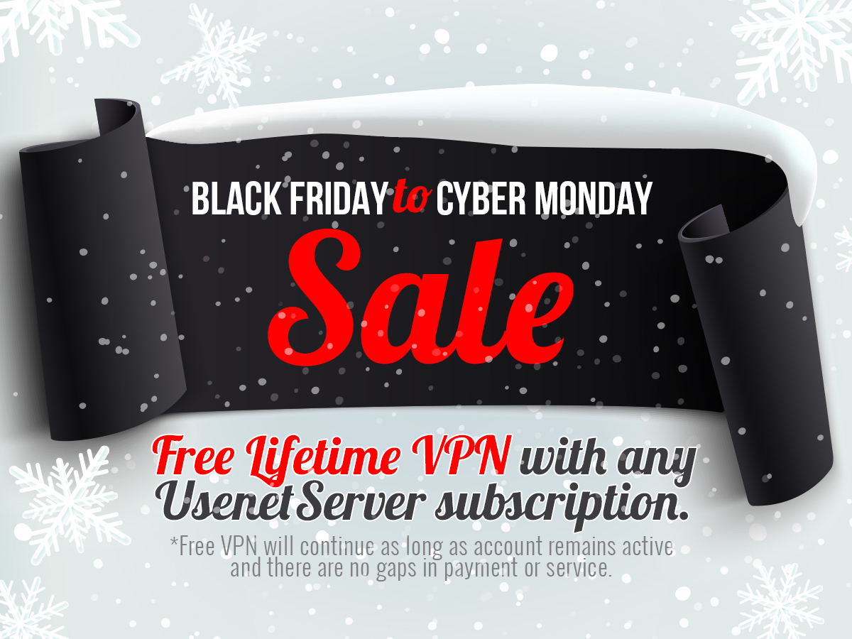 Free Lifetime VPN! – Black Friday Special