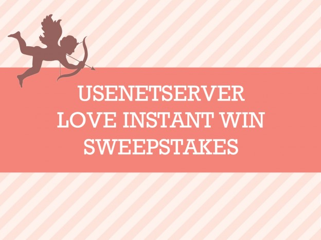 UsenetServer Love Instant Win Sweepstakes