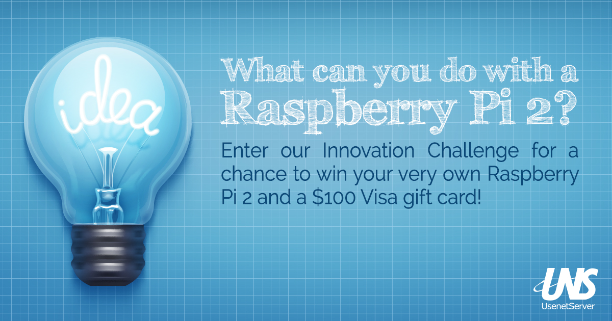 Innovation Challenge: What can you do with a Raspberry Pi 2?